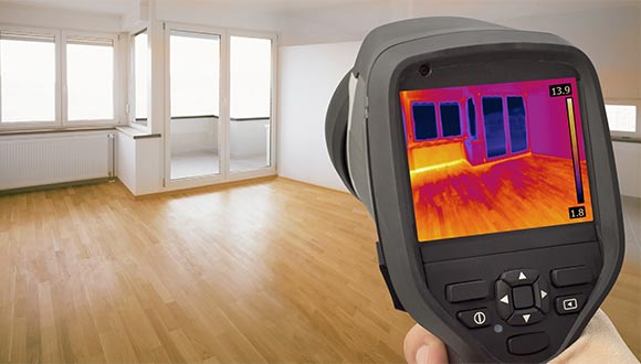 Thermal imaging home inspection services from Miller Residential Inspections
